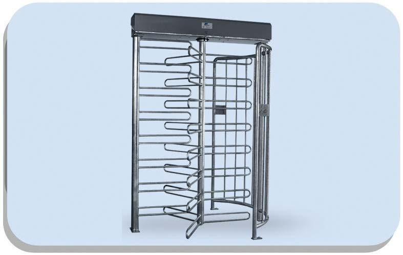Mpt33 Full Height Electro-Mechanical Turnstile - Pedestrian Turnstilies
