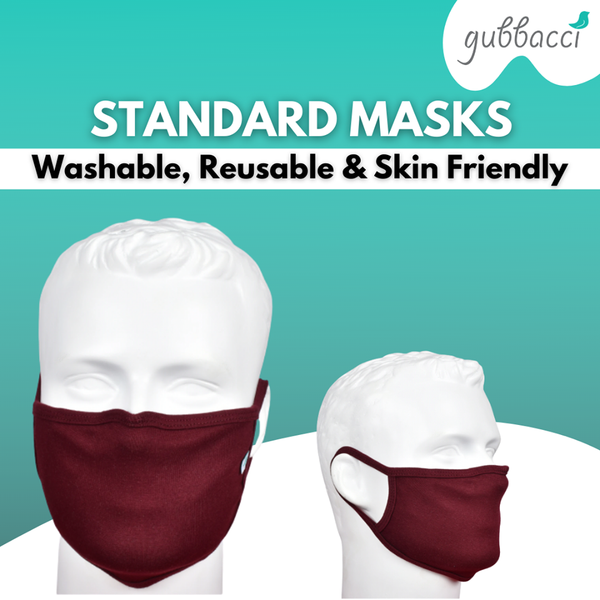 Standard Reusable Face Masks for Kids