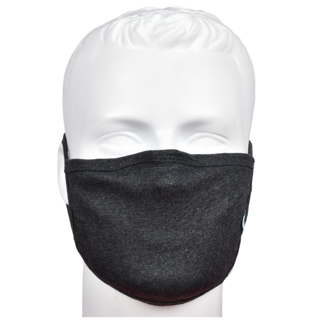 Standard Masks for Adults - Charcoal Grey