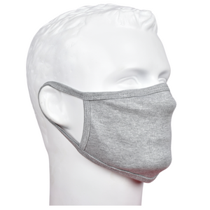 Standard Masks for Adults - Melange Gray