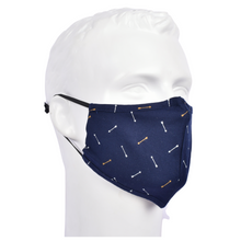 Load image into Gallery viewer, Gubbacci Premium Plus Face Mask with Filter - Arrow Blue