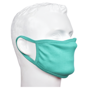 Standard Masks for Adults - Teal Green