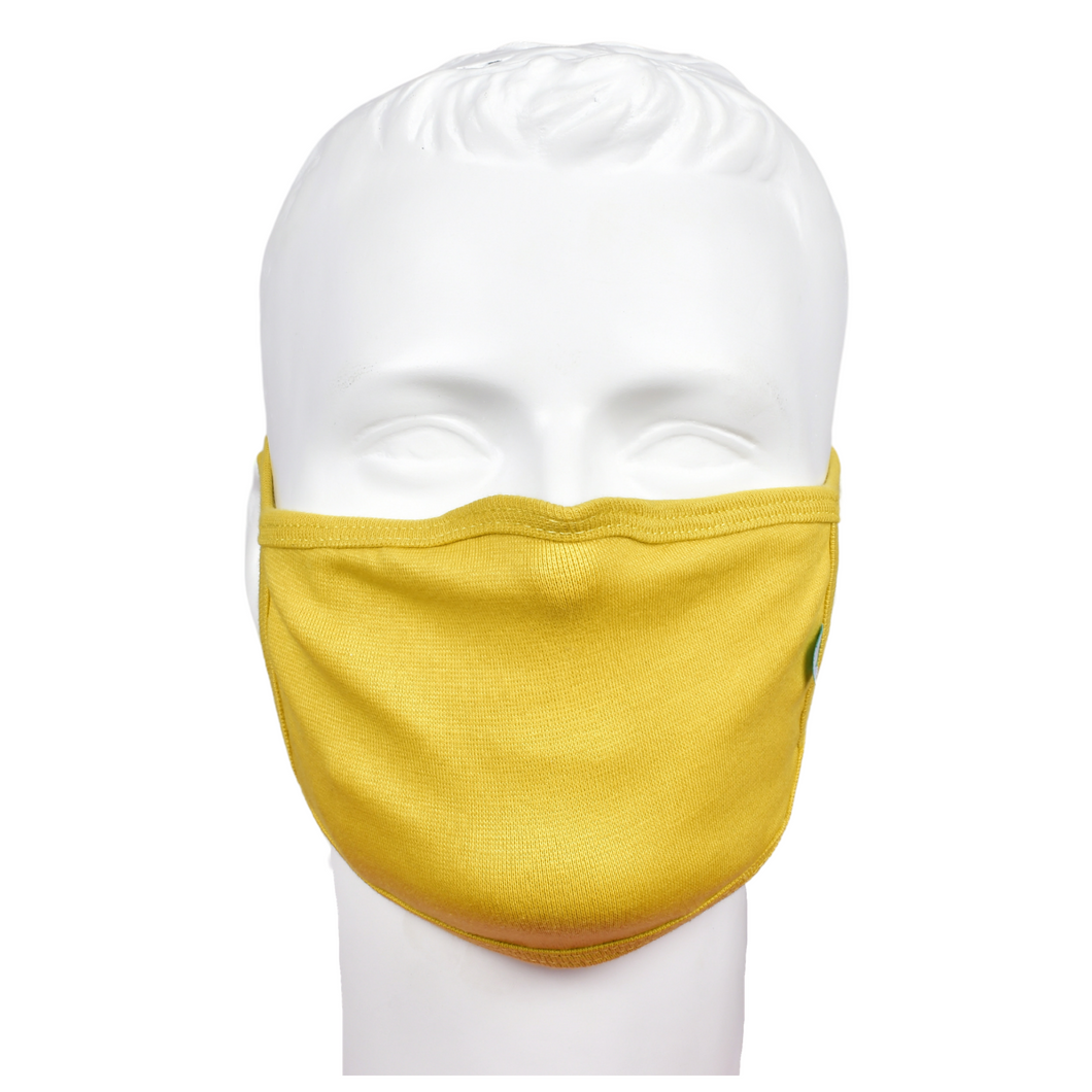 Standard Masks for Adults - Yellow
