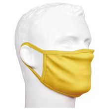 Load image into Gallery viewer, Standard Masks for Adults - Yellow