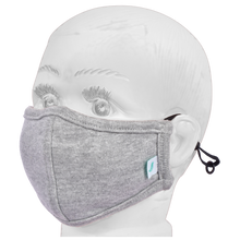 Load image into Gallery viewer, Standard Masks for Kids (2-4 Years)- Melange Gray