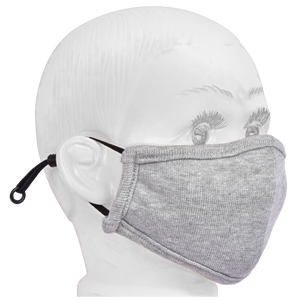 Standard Masks for Kids (2-4 Years)- Melange Gray