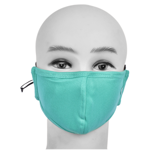 Standard Masks for Kids (5-12 Years)- Teal Green