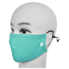 Load image into Gallery viewer, Standard Masks for Kids (5-12 Years)- Teal Green