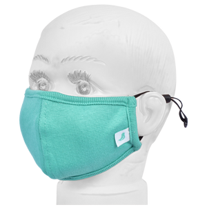 Standard Masks for Kids (2-4 Years)- Teal Green