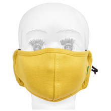 Load image into Gallery viewer, Gubbacci Standard Masks for Kids (2-4 Years)- Yellow