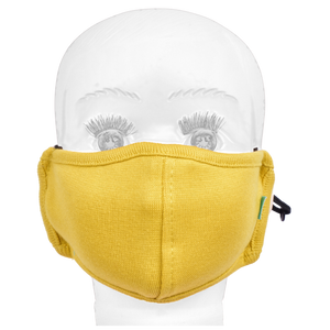 Gubbacci Standard Masks for Kids (2-4 Years)- Yellow