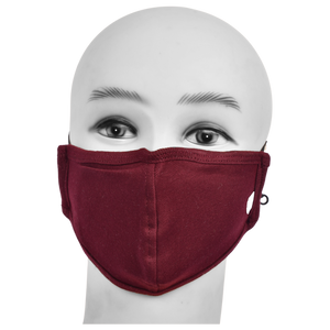 Standard Masks for Kids (5-12 Years)- Maroon