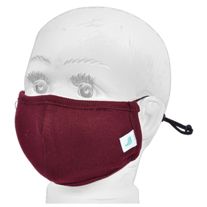 Standard Masks for Kids (2-4 Years)- Maroon