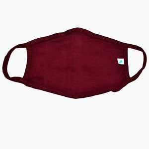 Standard Masks for Adults - Maroon