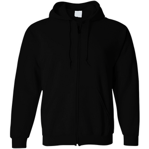 Customisable Cotton Hoodie with Zipper - Bulk Order (MOQ 120 Hoodies)