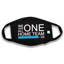 Load image into Gallery viewer, Gubbacci Basic Face Mask For Adults - We Are All One Home Team