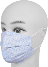 Load image into Gallery viewer, Gubbacci Premium Pleated Shaped Mask for Kids (Age 5-12 Yrs) Blue