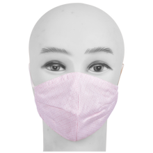 Load image into Gallery viewer, Gubbacci Premium Pleated Shaped Mask for Kids (Age 5-12 Years) Pink
