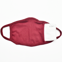 Load image into Gallery viewer, Standard Masks for Adults - Maroon