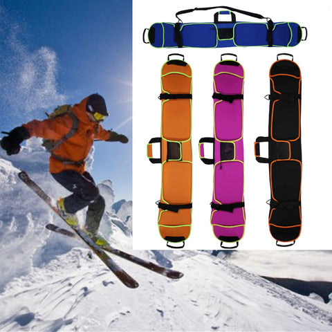 New Snow Board Skiing Ski Snowboard Bag Holdall Carry Case Shoulder Bag 145cm Protective Cover Sleeve Snowboard Protection