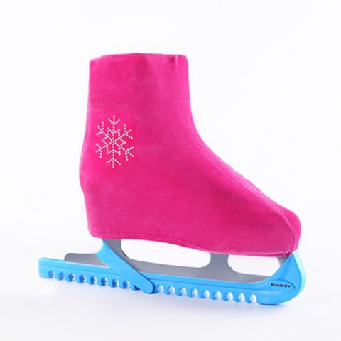 1 Pair Ice Skating Paints Cover Children Adults Dust-proof Roller Protector Skating Boot Flannelette Figure Skating Shoes Cover