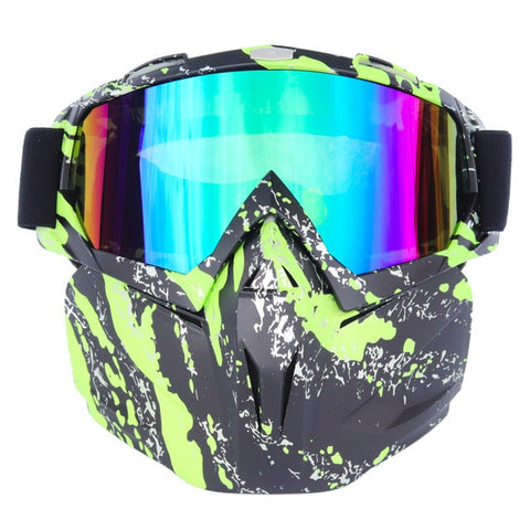 Men Women Riding Ski Snowboard Snowmobile eyewear Mask Snow Winter Skiing Ski Anti-UV Waterproof Glasses Motocross Sunglasses A