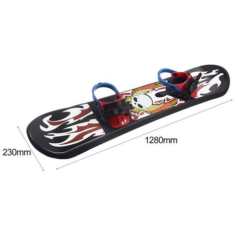 Outdoor Sports 95/110/128CM Plastic Freestyle Single Board Two-way Snow Grass Sand Board for Children & Adults