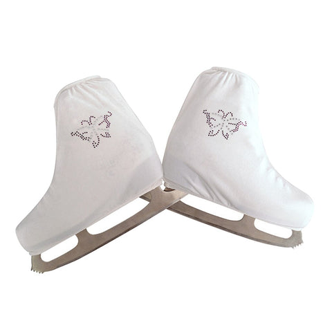 Figure Ice Skating Boot Warm Velvet Overshoes Roller Skates Protector Sleeve