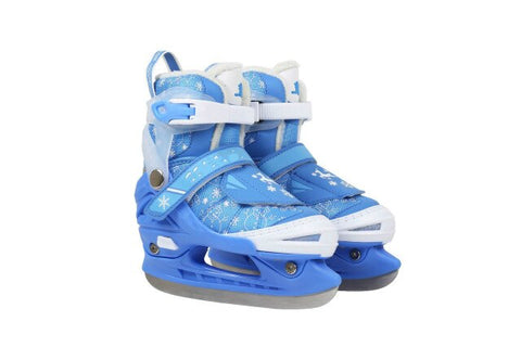 Hot Selling Children's Skate Shoes Adjustable Skate Shoes Beginner Ice Hockey Knife Figure Stainless Steel Skate Skates