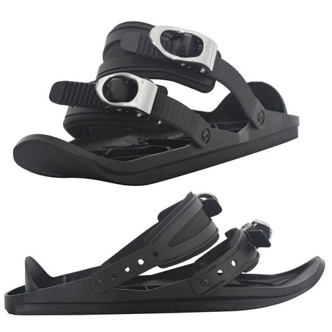 Winter Mini Ski Skates Snow Shoes Mini Ski Skates for Snow The Short Skiboard Snowblades