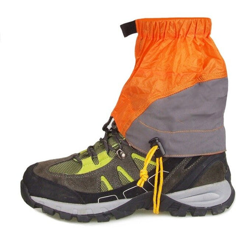 Outdoor Sports Sand Trekking Gaiters Snow Climbing Shoes Protection Cover Hiking Skiing Walking Waterproof Skate Short Gaiters
