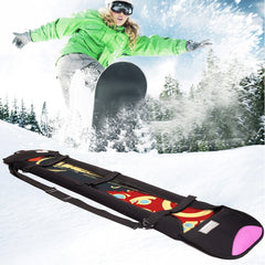 skiing bags Ski board Brand single board set Dumpling skin Snow board anti-rust rust veneer blade protection cover