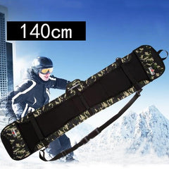 Skiing Camouflage dumpling single board  snow bag