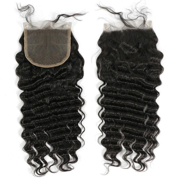 4 x 4 Lace Top Closure Deep Wave