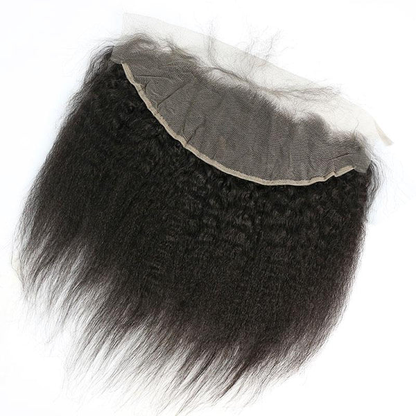 13 * 4 Lace Frontal Kinky Straight