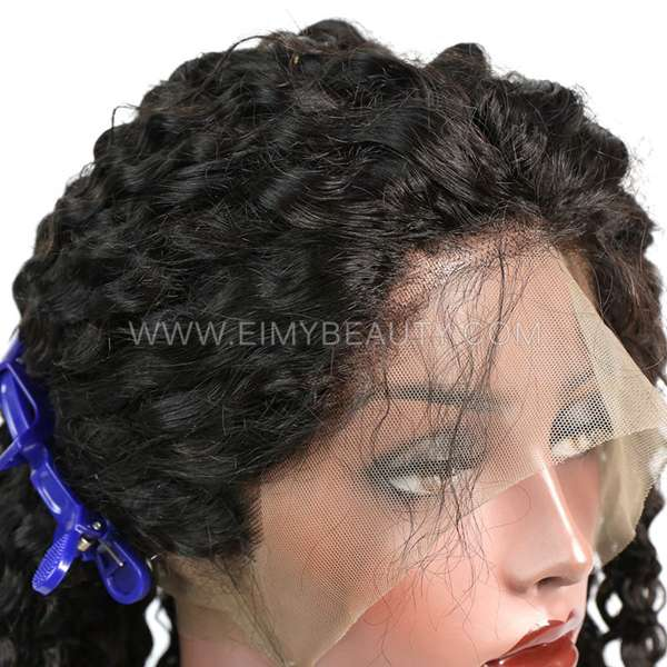 Lace Frontal Wig Italian Curly