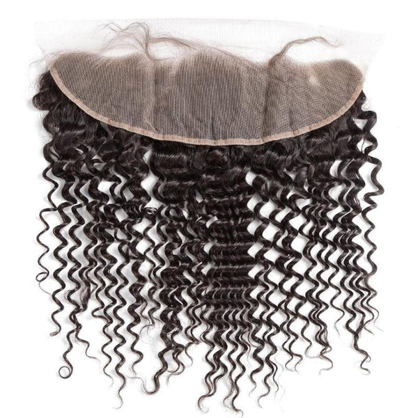 13 * 4 Lace Frontal Deep Curly