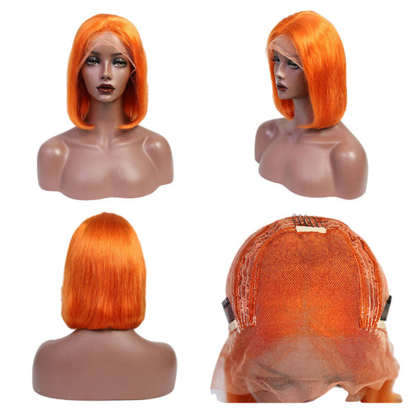 lace frontal colored bobo wig