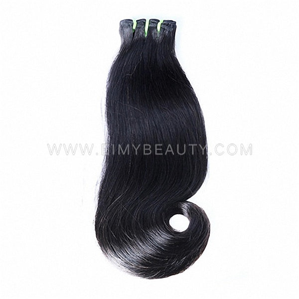 Double Drawn Funmi Hair Curvy Straight Human Virgin Hair 10 A