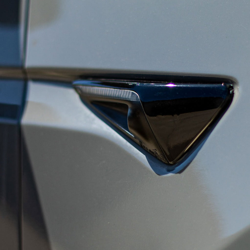 Tesla Model X Complete Chrome Delete | Tesla Model X Accessories | TESBROS