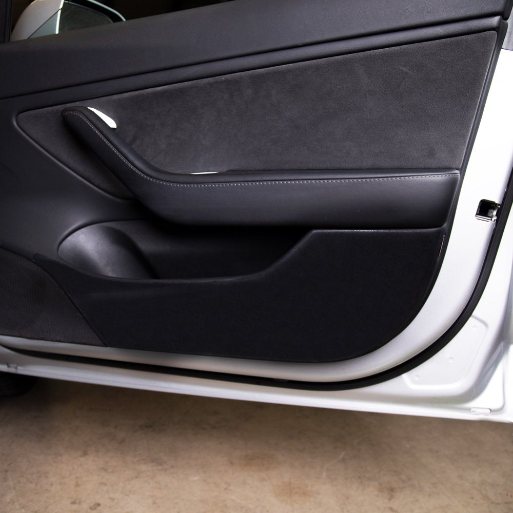 Model 3 Front Door Kicker Panels PPF | Tesla Model 3 Accessories | TESBROS