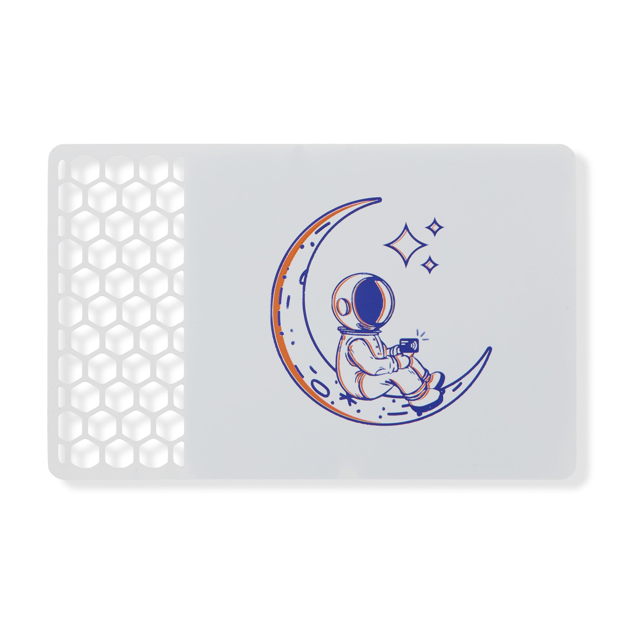 White Metal Card