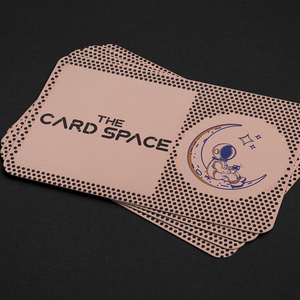 Rose Gold NFC Metal Contact Card