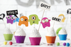 Monsters Cupcake Kit
