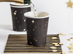 Black & Gold Paper Cups