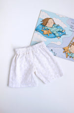 White Summer Shorts