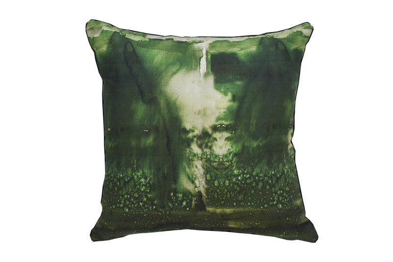 Emerald Wash Cushion Cover