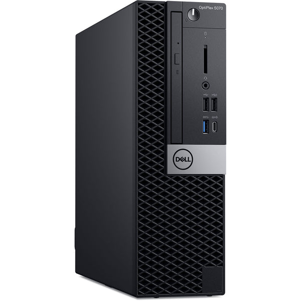 DESKTOP DELL  OPTIPLEX 5070 SFF /  CI7  9TH GEN / 3.0GHZ / HDD500GB / RAM8GB /  WITH NEW KEY+MOUS DELL WIR / NEW