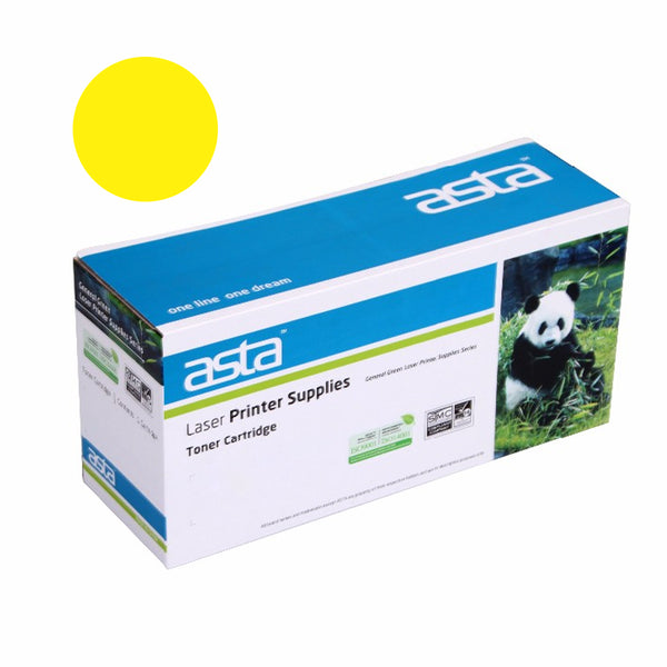 For HP CB542A Yellow Copatible LaserJet Toner Cartridge - For LaserJet CM1300/CM1312/CP1210/CP1215/CP1515n/CP1518ni