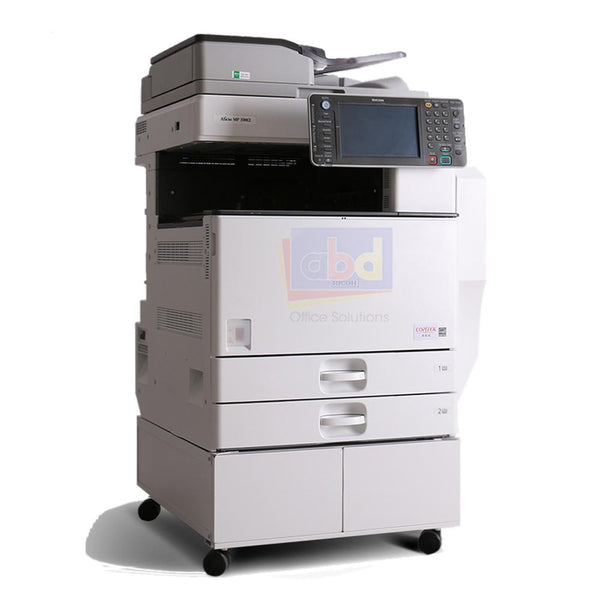 Ricoh Aficio MP 4002 A3 Monochrome Laser Multifunction Printer - 40ppm, Print, Scan, Copy, Network, Duplex, 2 Trays, Stand